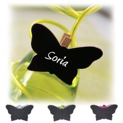 Papillon Ardoise sur pince X6