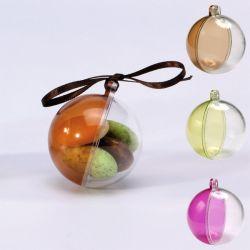 """Boule à dragées Plexi """"color"""" X6"""
