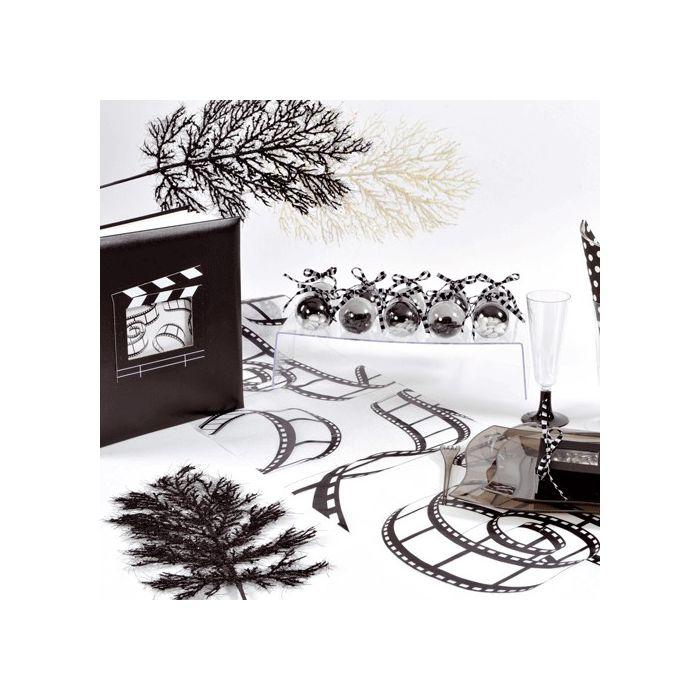 decoration mariage pas cher theme cinema id es et d 39 inspiration sur le mariage. Black Bedroom Furniture Sets. Home Design Ideas