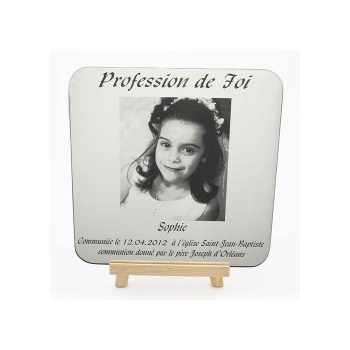 cadre photo miroir grav communion texte photos - Cadre Photo Mariage Grav