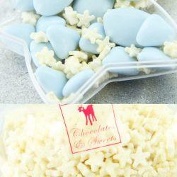 Etoile nacré chocolat blanc 100gr