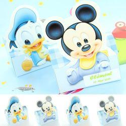 "Boite dragées ""Mickey et Donald"" X6 - Disney©"