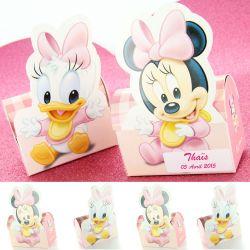 """Boite dragées """"Minnie et Daisy"""" X6 - Disney©"""
