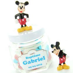 Mickey résine 3.5cm X2 dragées Disney©