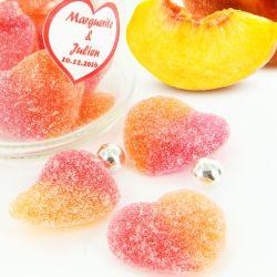 Bonbon Coeur de pèche 2kg