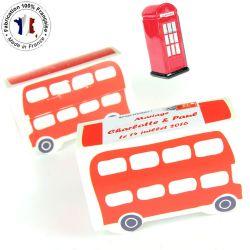 Ballotin dragée Bus Londres (les 10)