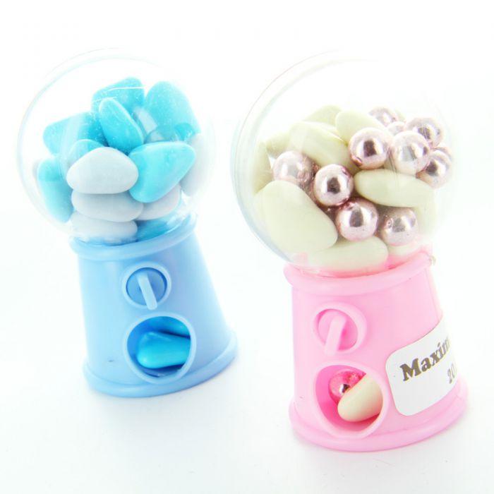 Mini distributeur bonbon 7cm - Boule en plastique pas cher ...