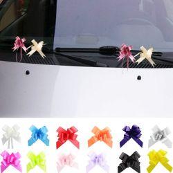 Mini nœud décoration voiture mariage (lot de 20)