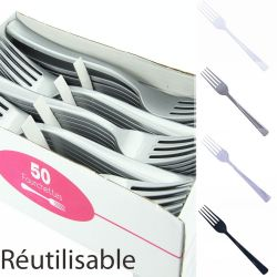Fourchette plastique jetable X50