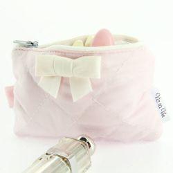 Dragées baptême fille -Mini Pochette dragées