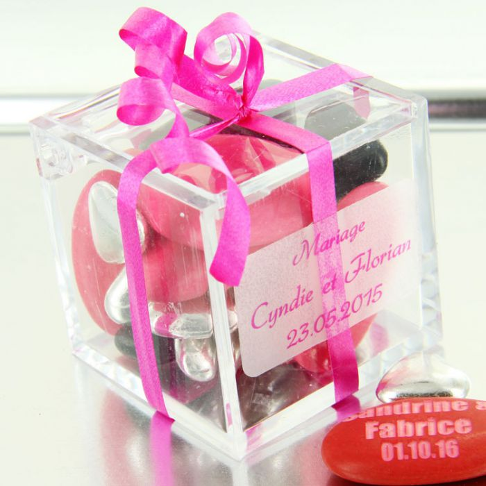 boite drages cube cadeau plexi boite drages cube cadeau plexi - Sujet Dragee Mariage Pas Cher