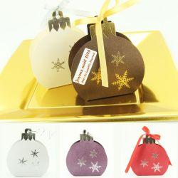 Boite chocolat de noël - Boule sapin de NOËL (les 6)