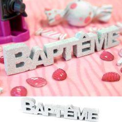 """Petit centre de table """" Baptême """""""