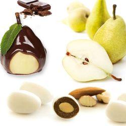 Dragées amandes Poire Chocolat 1kg