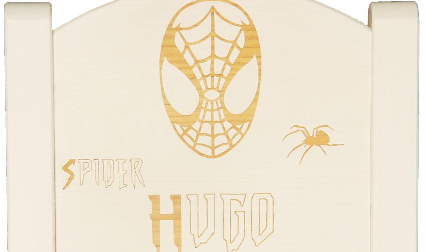 Chaise enfant personnalisée spider man